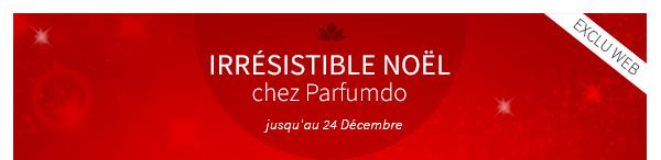 IRRESISTIBLE NOEL chez Parfumdo jusqu'au 24 Décembre