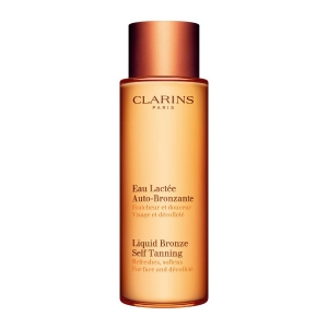LIQUID BRONZE SELF TANNING As fresh as water, as mild as milk!