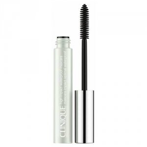 HIGH IMPACT WATERPROOF MASCARA Instant volume and length that resists flaking, clumping and smudging