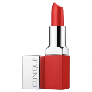 CLINIQUE POP MATTE Rouge Mat + Base 2 en 1