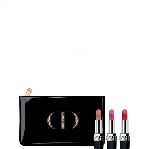 rouge dior coffret rouge dior 3 teintes l vres. Black Bedroom Furniture Sets. Home Design Ideas