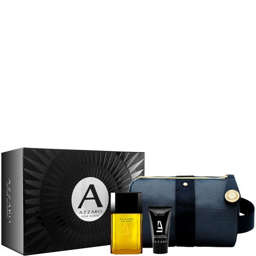 azzaro pour homme coffret trousse voyage azzaro pour homme parfums homme azzaro. Black Bedroom Furniture Sets. Home Design Ideas