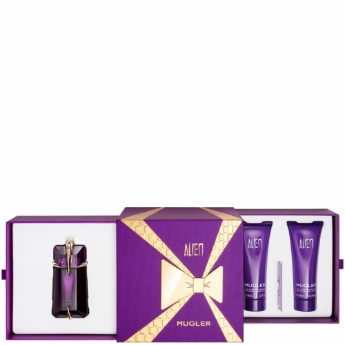 alien coffret deluxe eau de parfum alien parfums femme. Black Bedroom Furniture Sets. Home Design Ideas