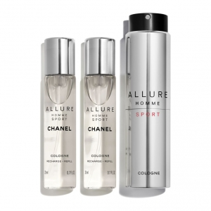 ALLURE HOMME SPORT COLOGNE REFILLABLE TRAVEL SPRAY