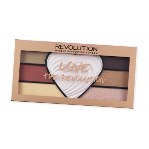 LOVE THE REVOLUTION Palette yeux + highlighter