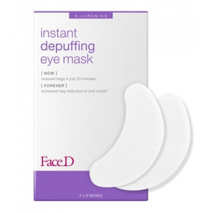 INSTANT EFFECT DEPUFFING EYE MASK Reduces bags, for a more luminous look