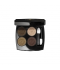LES 4 OMBRES Exclusive Creation - Limited Edition. Quartet eye shadows