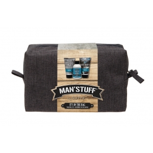MAN STUFF WASHBAG Coffret Soin Homme