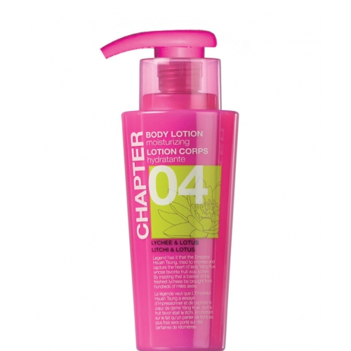 CHAPTER 04 LOTION CORPORELLE Litchi & Lotus