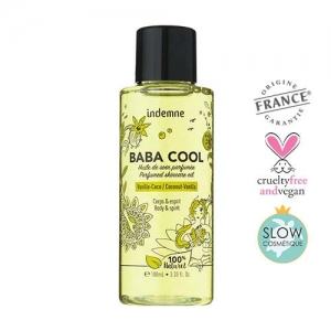 BABA COOL VANILA-COCONUT Scented oil for body and hair care