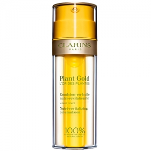 PLANT GOLD - PLANT GOLD Nourishing and revitalizing emulsion-in-oil for the face