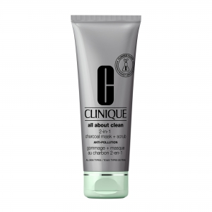 ALL ABOUT CLEAN GOMMAGE Charcoal Mask 2-en-1
