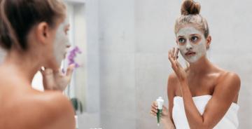 masque visage femme