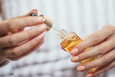 huile peau mature