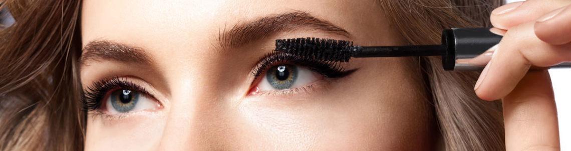 maquillage cils supérieurs
