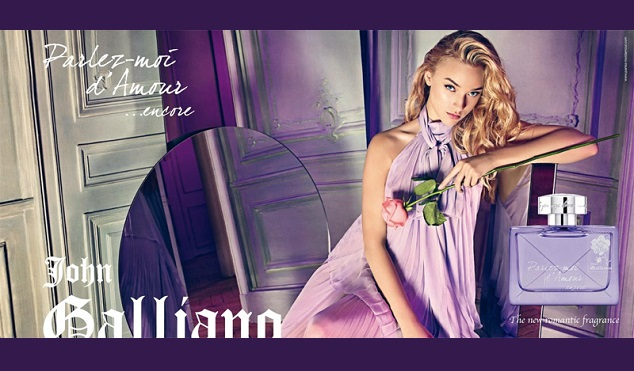 JOHN GALLIANO Les parfums coutures
