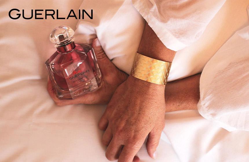 Votre manchette dorée Mon Guerlain