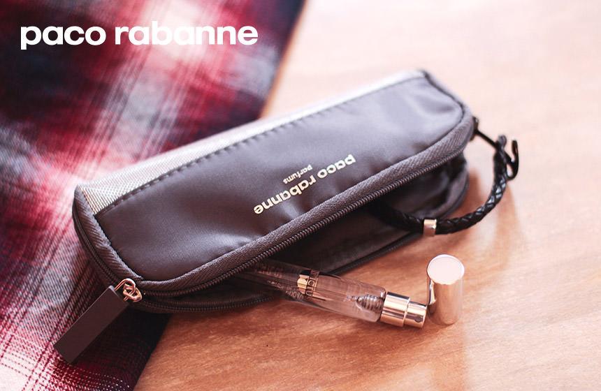 Votre travel spray + pochette Paco Rabanne